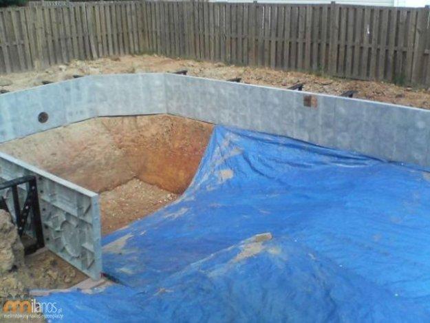 Zr b to sam przydomowy basen for Como hacer una piscina economica