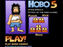 Hobo 5 Space Brawls Attack of the Hobo Clones
