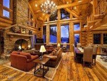 Niesamowite drewniane domy