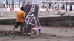 Magiczny obraz ulicznego artysty