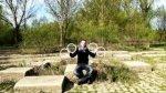 Iluzja optyczna za pomoca czterech kolek