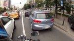 Obserwacje drogowe - jazda motocyklem po Warszawie
