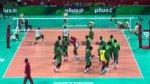 Rozgrzewka reprezentacji Kamerunu na weso�o