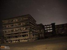 Zaniedbany hotel w Mozambiku