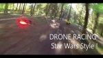 Wy�cigi dron�w w stylu Star Wars