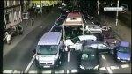 Wypadek we Wroc�awiu. Autobus staranowa� dziewi�� samochod�w