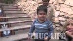 Dzieciak pokazuje kto tu rz�dzi