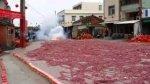 Tysi�ce petard odpalonych jednocze�nie