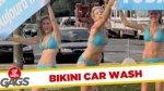 Ukryta kamera - dziewczyny od mycia samochod�w