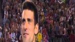 Novak Djokovic za ...