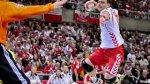 Ko�c�wka meczu Polska - Szwecja. POLACY W �WIER�FINALE M�!