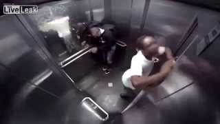 Zachcia�o mu si� nagle w windzie