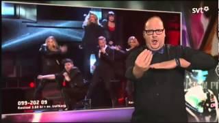 T�umacz j�zyka migowego kradnie telewizyjne show
