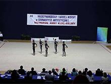 Juniorki z Azerbejd�anu prezentuj� swoje umiej�tno�ci
