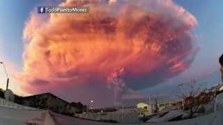 Tak mog�aby wygl�da� apokalipsa - Erupcja wulkanu Calbuco w Chile