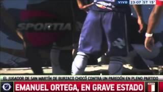 Tragedia w Argentynie. Pi�karz zmar� po uderzeniu g�ow� w betonowy mur na boisku
