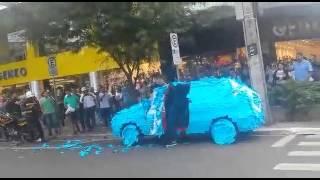 Oto co si� stanie jak zaparkujesz na miejscu dla niepe�nosprawnych w Brazylii