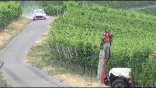 Traktor na rajdzie