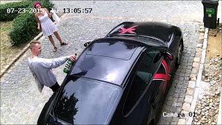 Krertyn podrapa� Porsche 911 Turbo