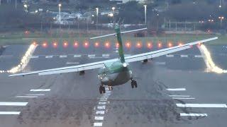 Samoloty turbo�mig�owe l�duj� w trudnych warunkach