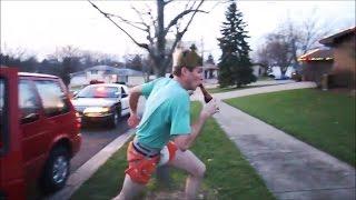 Kr�l ucieka przed policj�