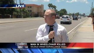 Pechowy dzie� w pracy telewizyjnego reportera