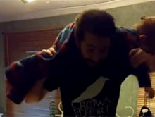 Wrestling ojca z synem