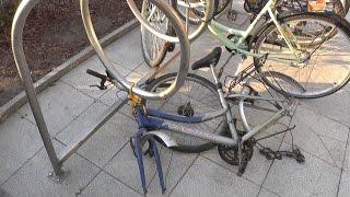 I zostaw tu cz�owieku rower na 5 minut...