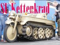 Motocykl półgąsienicowy Sd.Kfz.2 Kettenkrad
