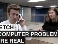 Problemy z komputerem brane dosłownie