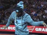 Fantastyczny taniec podczas NBA Show