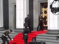 Wpadka podczas inauguracji Poroszenki