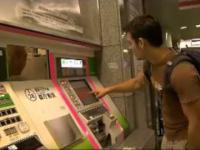 Obsługa klienta w japońskim metrze