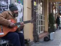 Sen o Warszawie w wykonianiu bezdomnego