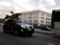 Brazylijska policja Toyota Fortuner i test łosia