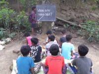 Lekcja angielskiego w Afryce
