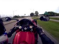 Jazda na kole przy 200km/h
