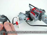 6-biegowa skrzynia zrobiona z klocków lego
