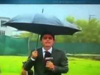 Alpaka atakuje reportera ESPN