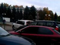 Mistrzyni parkowania !
