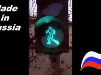 Sygnalizator dla pieszych w Rosji