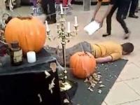 Straszenie na Halloween. Tym razem