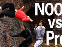 Parkour: Noob vs Pro
