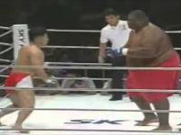 Sumo 272kg vs Zawodnik MMA 76kg
