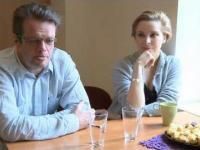 Marcin Meller, Anna Dziewit-Meller - wywiad; Wrocław;