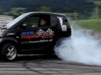 Smart z silnikiem Suzuki Hyabusa TURBO