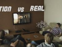 ACTION VS REAL (B-Lajk.tv)