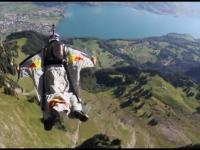Wingsuit gliding z Cedriciem Dumontem