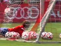 Robert Lewandowski strzelił pięknego gola na treningu w Bayernie