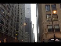 Okropne dźwięk syreny w Chicago